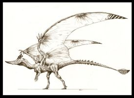 The Ugliest of Dragons by Kevcatalan