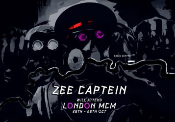 Captain at MCM london October 26-28 by alexiuss