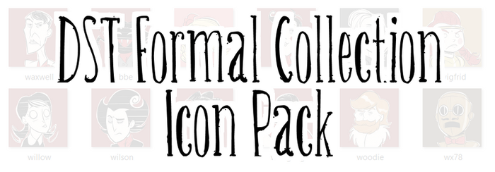 DST Formal Collection Icon Pack by ItsTheBlob
