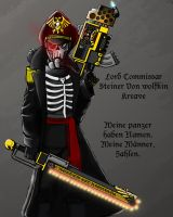 The Lord Commissar of Krieg by Hazard-Trooper