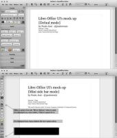LibreOffice UI Mock-up light 3 by pauloup