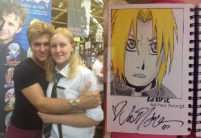 Meeting Vic Mignogna by Tainted-evil