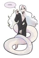 Sirene: The Reptile Queen by Kofu-kechi