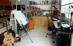 My studio by zednaked