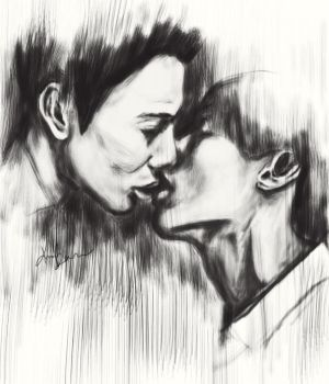 Kiss. Inspired by Taemin Press it album main pic by parkminhae