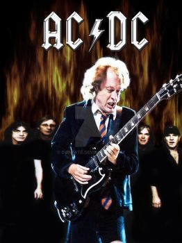 ACDC Poster by DonPate