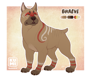 Bhaevi Ref Sheet by Kumilch