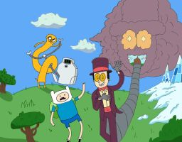 Superjail Meets Adventure Time by JackSkelling10