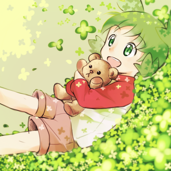 Not enough clovers by Luo-Qin
