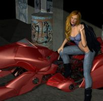 One Hot Ride by DiannaSilver
