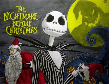 The Nightmare Before Christmas by VitoGraffito