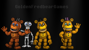 Adventure Freddy v2 model test by ItsMeGFG