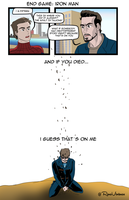 Infinity War: Tony and Peter by DunadanX