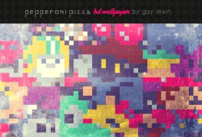 PEPPERONI PIZZA by guyx23