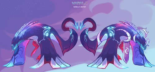 |CLOSED| Varnla the Nebula Beast by Mirokei