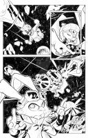 Bucky O'Hare Page 01 by GlaucoSilva