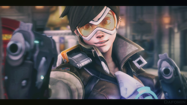 [SFM Overwatch]- Tracer by Dafomin