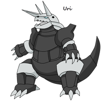 Aggron by Anhrak
