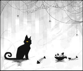 Kitty and Fish Bones ID by blinkifish13