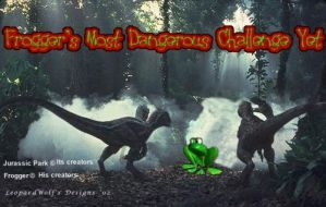 Frogger's Challenge by leopardwolf