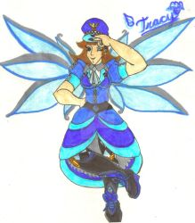 Police Angel Tracy by Winter-Colorful