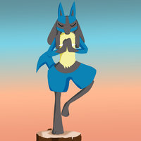 Lucario by PlottingYourDemise