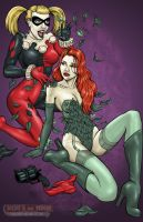 Harley and Ivy by DocRedfield