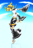 [vOCALOID] Kagamine Len - Tower by HunterK