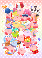 Kirby Super Star Ultra! by CubedCake
