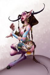 Crisses's faun girl by Herisheft