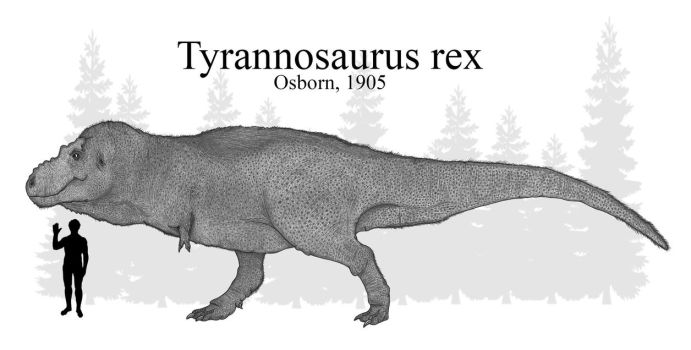 The Scaly T.rex of 2017 by RhysDylan01