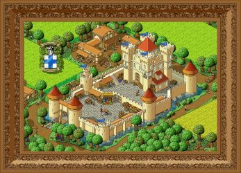 Medieval Castle by docdoom