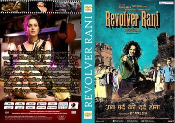 Revolver Rani HIndi Movie DVD Cover by santoshempire