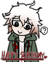HAPPY B-DAY KOMAEDA AAA by KamiSai