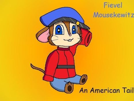 Fievel Mousekewitz by EmiOhki