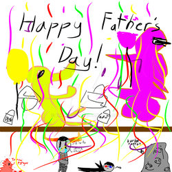 hapy fathers DAY!!!!!! by EmeraldNN
