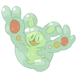 favorite psychic type - Reuniclus by shoelazy