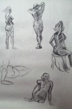 Figure Drawing 4 by JaceyKing