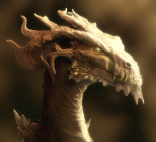 Ancient Forest Drake (Interactive Model in Desc.) by Earldense