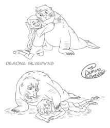 Seal Pines 1 (Commission) by Demona-Silverwing