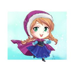 Chibi Anna by lince