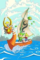 The Legend of Zelda, The Wind Waker by iangoudelock