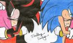 Two hedgehogs, 1 heart by Guadisaves02