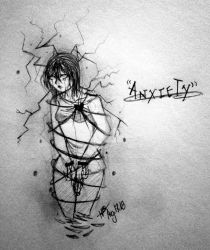 A n x i e t y  by Hooded13