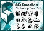 Brushes: 3D Doodles by cranial-bore