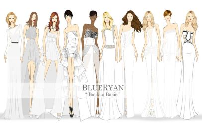 BLUERYAN Spring Summer 2012 Back to Basic Sketches by blueryan