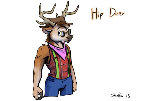 Hip Deer by Shieltar