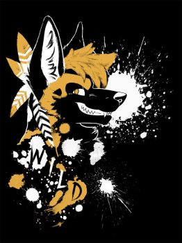 Wild Dog - Nomad Complex shirt design by SilentRavyn