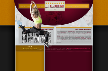 Layout with Jules Hough by aktakatka