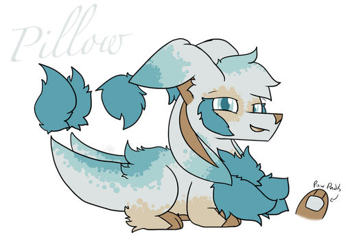 Pillow the Flingleen (Approved) by PoppyWolfMoon